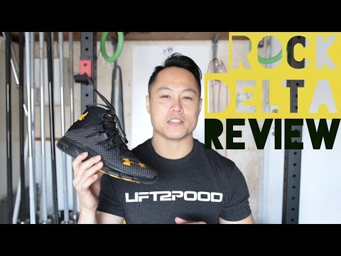 Under Armour Project Rock Delta Shoe Review (Highlight Delta)