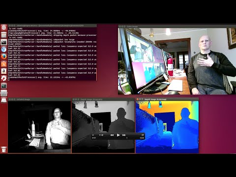 MS Kinect V2 on NVIDIA Jetson TX1 - JetsonHacks