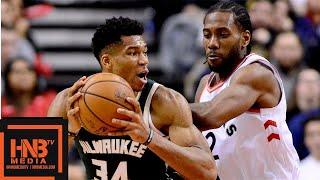 Toronto Raptors Vs Milwaukee Bucks Full Game Highlights | 12.08.2018, NBA Season