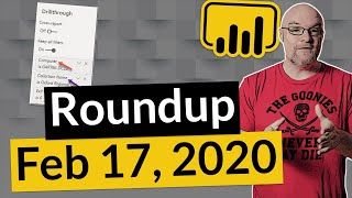Big news for Power BI and more... (Roundup   February 17, 2020)