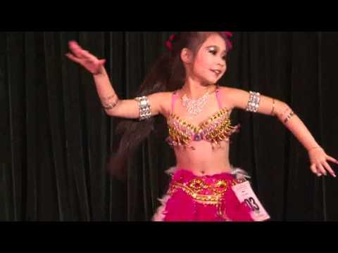 Solo thieu nhi - Le Kim Ngan - sbd 03 - thi dau Unlimited Bellydance 2012