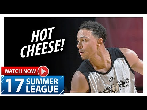 Bryn Forbes Full Highlights vs 76ers (2017.07.09) Summer League – 35 Pts!
