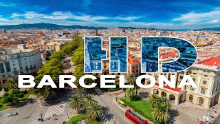 Videos van steden en landen als ecard, A walking tour around the city of Barcelona..