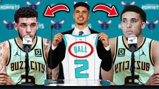 CHARLOTTE HORNETS SIGN Lonzo Ball & LiAngelo Ball - JOINS LaMelo Ball