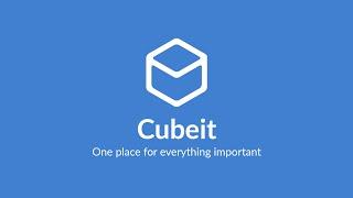 Cubeit - App Demo Video