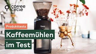 Elektrische Kaffeemühlen im Test: Baratza Sette, Baratza Encore, Rommelsbacher EKM