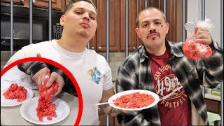 TRYING PRISON FOOD w/ Inmate!