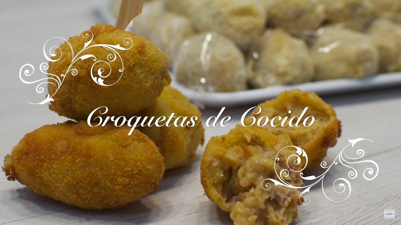 Croquetas Caseras | Coquetas de Cocido | Como hacer Croquetas | Receta Croquetas | Croquetas Jamon
