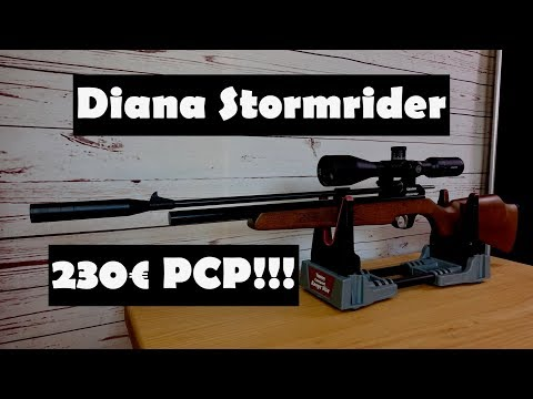 Luftgewehr Diana Stormrider - Review und Schusstest