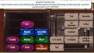 Jeu Vocabulaire Langue Yemba (Dschang) Par Resulam