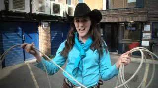 Calgary Stampede Princess: How to lasso