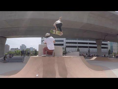 Roll For Rob Lynch Family Skatepark Boston 2017