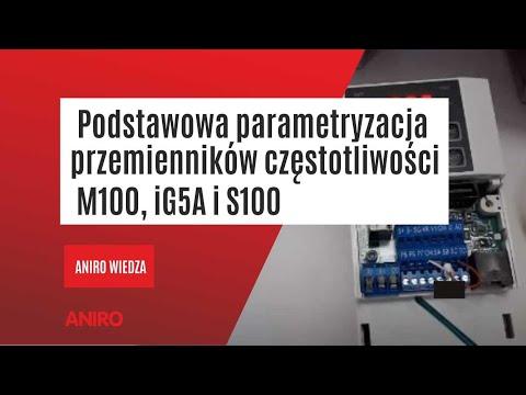 [Poradnik Napędowca] cz. 1 Podstawowa parametryzacja przemienników częstotliwości M100, iG5A i S100 - zdjęcie
