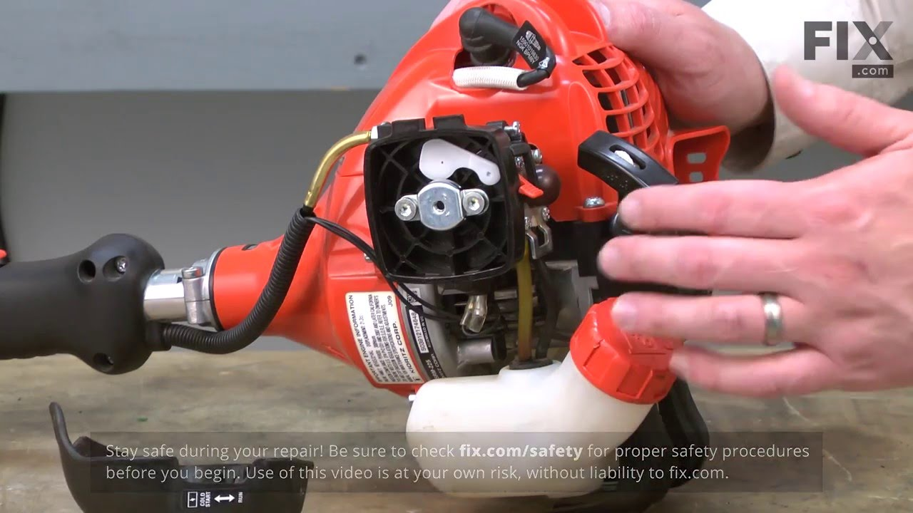 Replacing your Echo Trimmer Fuel Filter