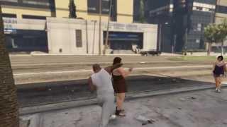 Эпичные удары в GTA 5 [60FPS] 1080p