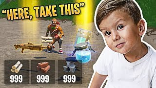 The Nicest Kid EVER in Fortnite!   Fortnite Best Moments #78