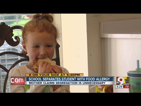 Video Mom: Girl with Celiac Disease has to sit alone during school lunch