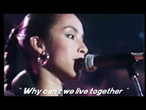 Sade - Why can't we live Together ? - Montreux Jazz Festival ( 1984 )