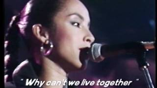 Sade   Why Can't We Live Together ?   Montreux Jazz Festival ( 1984 )