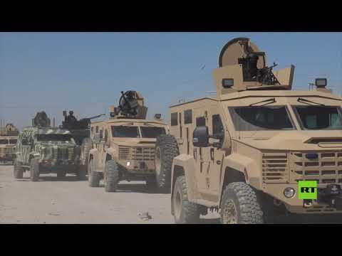 العرب اليوم - شاهد: عملية تفتيش واسعة في مخيم الهول شمالي سورية
