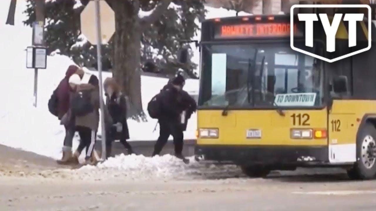 FedEx Worker Freezes To Death In Polar Vortex thumbnail