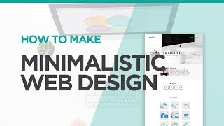 How To Make A Minimalistic Web Design | XD Time Lapse