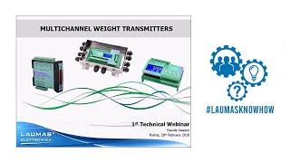Technical Webinar - Multichannel Weight Transmitters