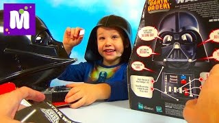 Говорящий Шлем Дарта Вейдера Speaking Darth Vader Helmet Star Wars