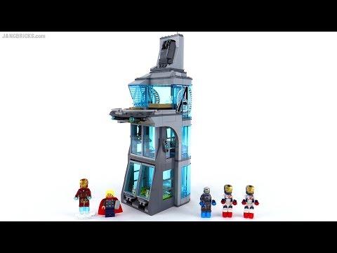 LEGO® Super Heroes Нападение на башню Мстителей 76038