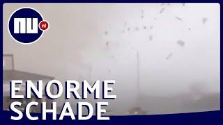 Tornado raast door Amerikaanse stad | NU.nl