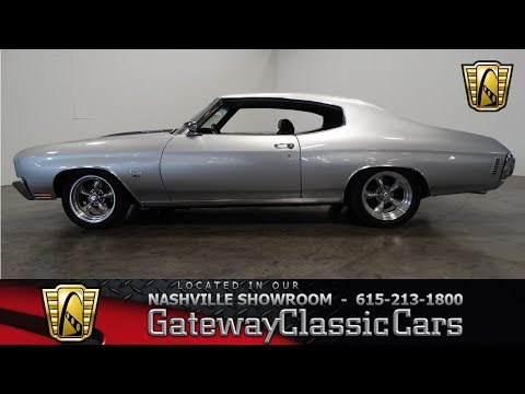 Video of '70 Chevelle - L7GX