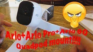 Arlo Quadpod Mount / Stand for Netgear Arlo , Pro, Pro2  & GO cameras - Wasserstein review