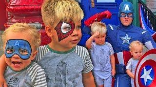 DISNEYLAND SUMMER OF HEROES DRESS UP!