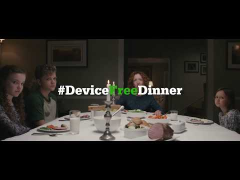 Common Sense Media #DeviceFreeDinner - Like PSA