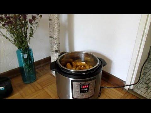 kartoffeln kochen im instant pot