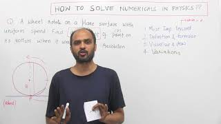 STEP WISE METHOD to Solve Physics NUMERICALS | Call at 8527521718 to CRACK NEET!!!