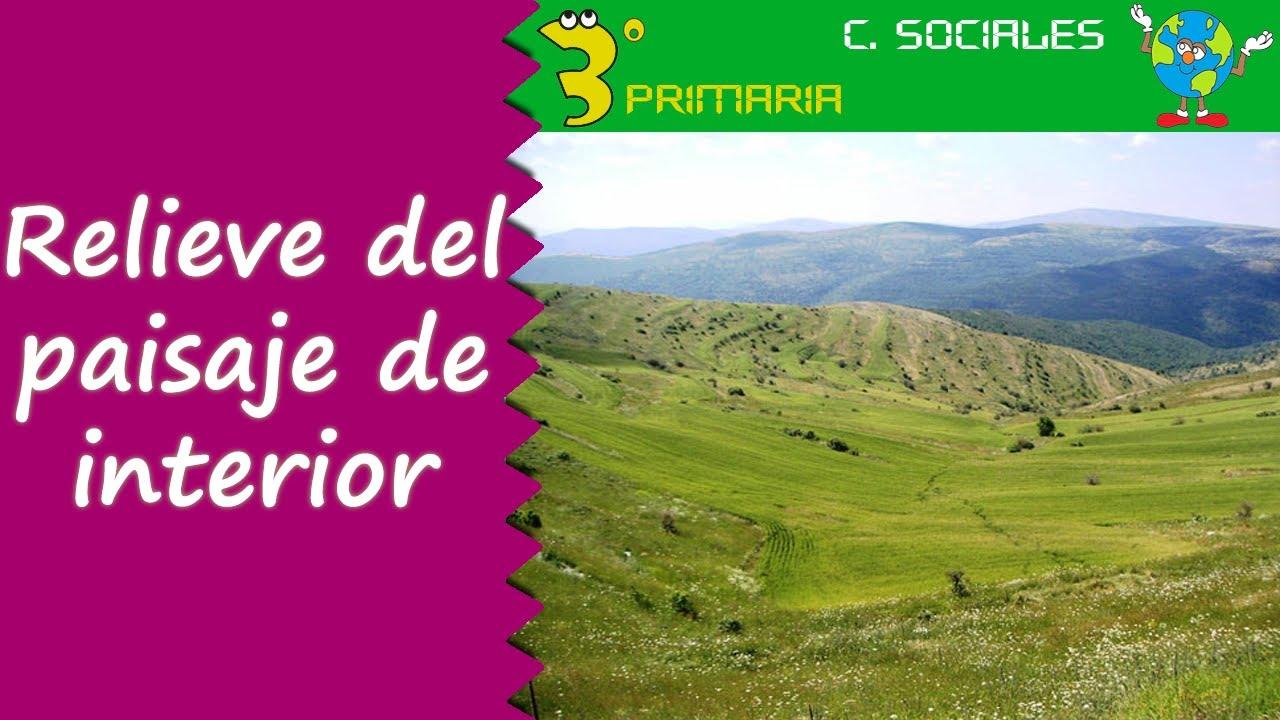Ciencias Sociales. 3º Primaria. Tema 6. Relieve del paisaje de interior