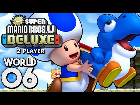 super mario bros u deluxe walkthrough