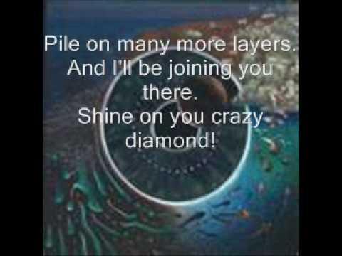 Pink Floyd: Shine on You Crazy Diamond -w/ lyrics-