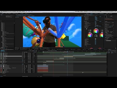 Compositing the Fantastic Contraption Trailer Timelapse