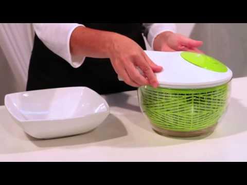 María Lunarillos | tienda & blog | Centrifugadora para ensalada con manivela Essential