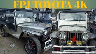 FPJ TOYOTA 4K owner type jeep