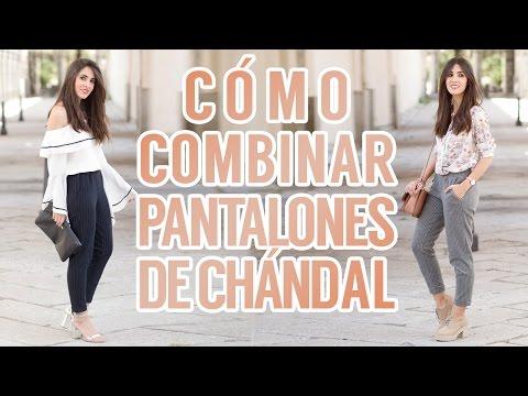 Cómo combinar pantalones de chándal | Lookbook
