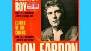 Don Fardon- Indian reservation (Lyrics)