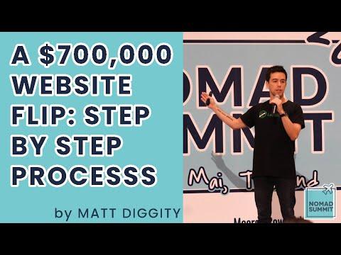 SEO and Website Flipping: Matt Diggity - Nomad Summit CM2020