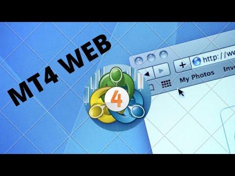 MT4 WebTrader (How to use)