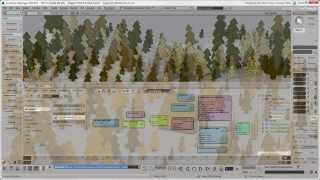 Generating a Forest with ICE Modeling - Part 2: Adding Materials and Textures