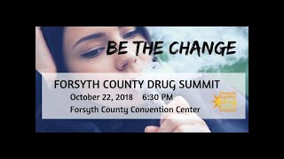 10th Drug Summit, October 22, 2018