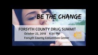 10th Drug Summit, October 22, 2018