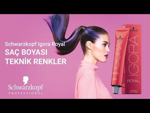 Schwarzkopf Igora Royal Saç Boyası Teknik Renkler 60ml